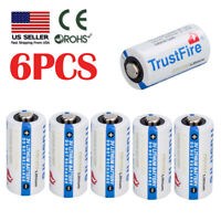 6x Batteries Flashlight 85177 CR123A 3 Volt Batteries, 6Pack Exp 2027 For Camera