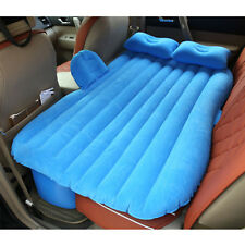 Car Auto Inflatable Air Cushion Mattress Seat Sleep Rest Bed Outdoor Sofa Blue