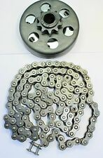 "Centrifugal Clutch And Chain Honda 5.5 HP 6.5 HP 3/4"" ID 40/41/420 Go Kart, Bike"
