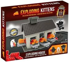 Exploding Kittens Construction Set - Exploding House 317 pcs