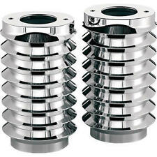 Harley FLHXS Street Glide Special 2014Retro Fork Boot Covers Chrome Arlen Ness