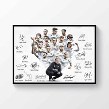 Leeds United Champions 2019-2020 Signed Printed  A4 Poster