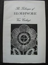 The Technique Of Bloemwork by Vera Cockuyt - Lacemaking Manual