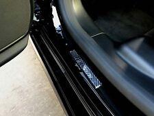 2pcs TUSCANI Doom Carbon Fiber Door Step Door Sills Sticker Decal