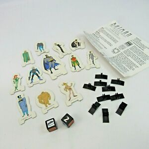 Batman The Animated Series 3-D Board Game Replacement Pieces Assorted Parts