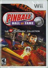 Pinball Hall of Fame: The Williams Collection (Nintendo Wii 2008) Factory Sealed