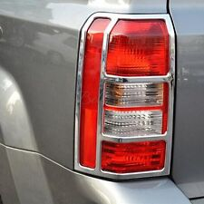 Chrome Rear Lamp Taillight Frame Cover Trim FOR JEEP PATRIOT 2007-2017