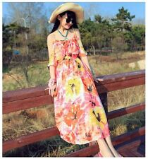 New 2016 Spring/Summer Bohemian, Beach, Evening, Maxi Dress