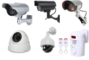 Dummy/Fake CCTV DIY Home Security Camera indoor/outdoor camera with flashing LED