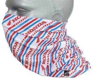 Alpinestars Honda Neck Tube Scarf Summer Protection For Mouth Nose