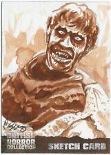 British Horror Collection Sketch Card created by Clay Sayre [ B ]