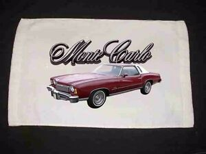 NEW Chevy Monte Carlo Hand Towels (Many to choose from)