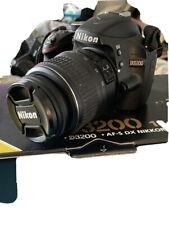 Nikon Spiegelreflex D3200 18-55 VR Kit gebraucht top Zustand 7591 Auslösungen