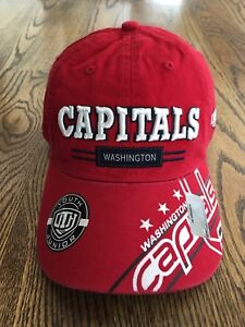 NHL Washington Capitals Baseball Hat Cap Kid Boys Youth Hockey Adjustable NWT