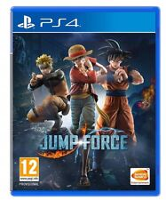 VIDEOGIOCO JUMP FORCE PS4 ITALIANO PLAY STATION 4 DRAGON BALL ONE PIECE NARUTO