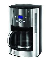 RUSSELL HOBBS 23241-56 Luna Moonlight Grey Kaffeemaschine Edelstahl/Grau 300038