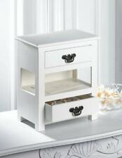 Mini Tabletop Two Drawer Table Minature 12 Inch High Furniture Home Decor