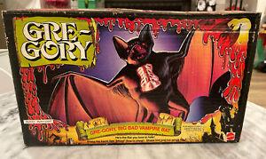 Vintage 1979 Mattel Gre-gory Vampire Bat Gregory monster toy original box MIB