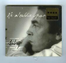 CD (NEW) RENE AUBRY NE M'OUBLIE PAS