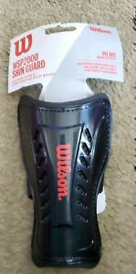 """Wilson Peewee Shin Guards WSP2000 Lightweight For Kids Up To 4'1"""""""