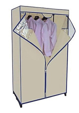 """METAL FRAMED PORTABLE WARDROBE CLOSET  36"""" IN ASSORTED COLORS"""