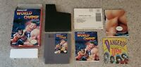 World Champ Nintendo NES Game Complete CIB w/ Box Poster & Instruction Manual !!