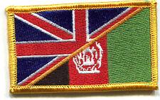 KANDAHAR WHACKER BRITISH OP HERRICK SAS CAMP BASTION burdock SSI: UK/AFG FLAG