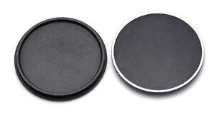 Two 39mm 39 Screw in Metal Front Lens Cap for Leica NEW