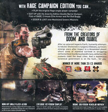 Rage, Campaign Edition Mac OS 10.7.2 Intel. shooter game New & sealed