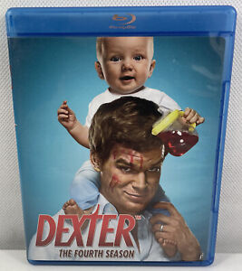 Dexter The Fourth Season Blu-ray - Like New Condition Free Tracked Postage