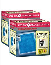 Rite Size A Filter Cartridge 12-Pack (2 packs of 6) Filter MarineLand Penguin