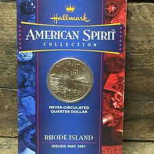 American Spirit Collection Rhode Island Quarter Hallmark