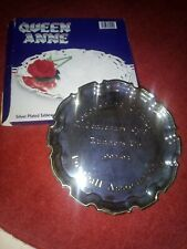 Chesterfield FC 1992-1993 Centenary Cup Runners Up Players Silver Plated Salver