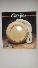 VINTAGE OLD SPICE SHOWER SOAP ON A ROPE SHULTON 5 OZ NEW IN PACKAGE
