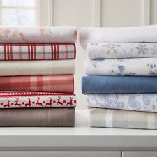 Ultra Soft Premium All-Season 4 Piece Flannel Bed Sheet Set