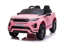 Range Rover Evoque SUV JEEP Geländewagen Kinderauto Kinderelektroauto 12V Pink