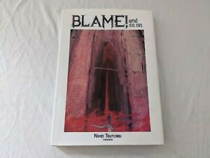 Blame! von Tsutomu Nihei Artbook SUPER ZUSTAND RAR CYBERPUNK NOISE X-MEN ANIME