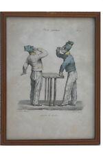Edme Jean Pigale, 1798-1872 -Schlucken Sie den Schmerz