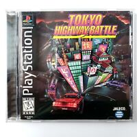 Tokyo Highway Battle (Sony PlayStation 1, 1996) Black Label Complete Tested
