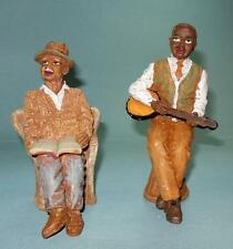 FAMILY GATHERING FATHER AND GRAND FATHER RESIN DOLLHOUSE PEOPLE
