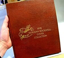The 1978 Norman Rockwell Cover Collection Leather Bound