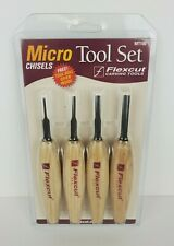 Flexcut Carving Tools Micro Chisel Tool Woodcarving Set Mt100 New