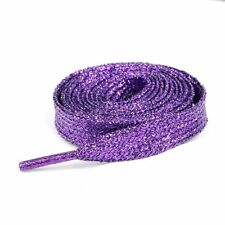 1 pair Fashional Sparkle Bling shoe string Glitter Metallic Shoelaces 14 colors