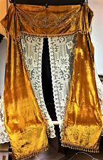 GREAT ART NOUVEAU COURTAINS. VELVET SATIN. SPAIN. CIRCA XIX-XX