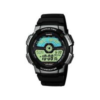 Casio Collection Spherical Glass World Time Digital Watch AE-1100W-1AVEF