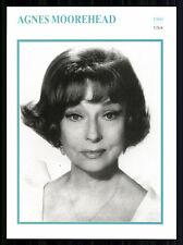 Star Portrait carta-Agnes Moorehead + G 7833