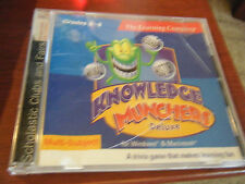 Knowledge Munchers Deluxe - Grades 3 to 6 (PC & MAC, 1999)