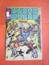 UOMO RAGNO spiderman -N° 209 -prima SERIE 1°- DEL 1978 -EDIZIONI CORNO- usato-b
