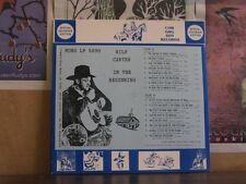 WILF CARTER MONTANA SLIM IN BEGINNING - COW GIRL BOY LP