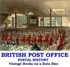 British Post Office History Penny Post Rowland Hill Vintage Books on Data Disc